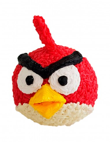 Red from Angry Birds (Free Template For a 3D Pen)