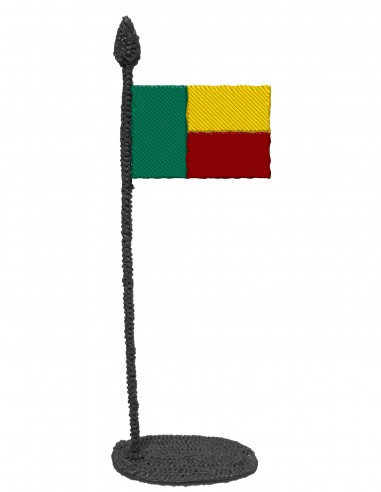 Flag of Benin (Free Template For a 3D Pen)