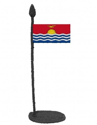 Flag of Kiribati (Free Template For a 3D Pen)