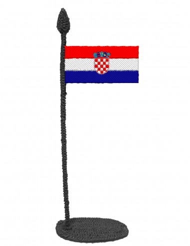 Flag of Croatia (Free Template For a 3D Pen)