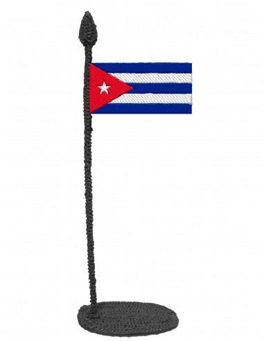 Flag of Cuba (Free Template For a 3D Pen)