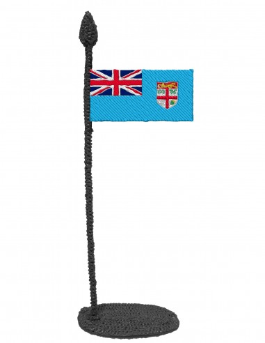 Flag of Fiji (Free Template For a 3D Pen)