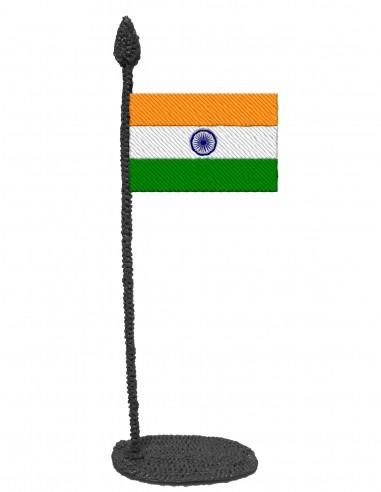 Флаг Индии (Трафарет для 3D-ручки)
