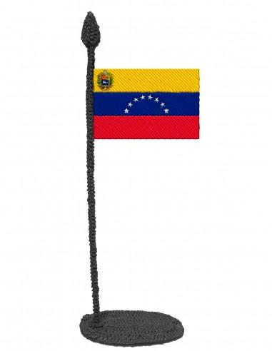 Flag of Venezuela (Free Template For a 3D Pen)