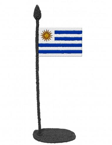 Флаг Уругвая (Трафарет для 3D-ручки)