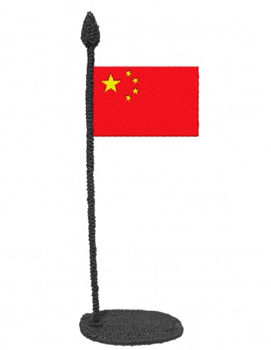 Flag of China (Free Template For a 3D Pen)