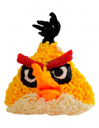 Chuck from Angry Birds (Free Template For a 3D Pen)
