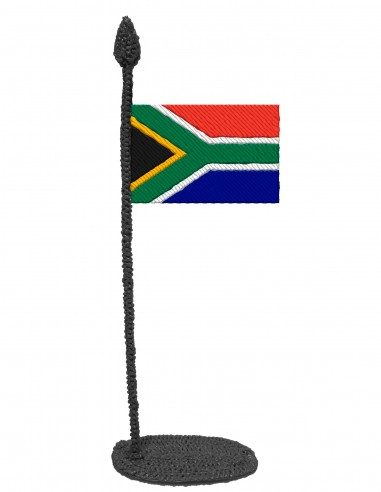 Flag of South Africa (Free Template For a 3D Pen)