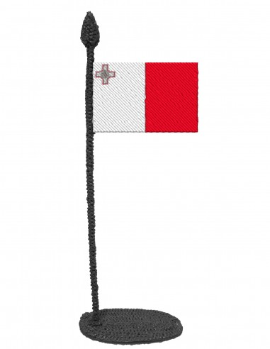 Flag of Malta (Free Template For a 3D Pen)