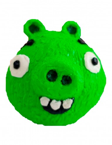 Minion Pig from Angry Birds (Free Template For a 3D Pen)