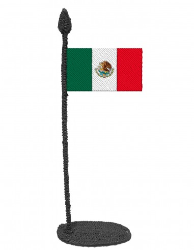 Flag of Mexico (Free Template For a 3D Pen)