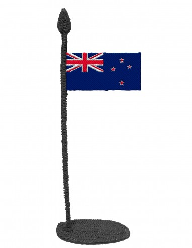 Flag of New Zealand (Free Template For a 3D Pen)