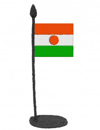 Flag of Niger (Free Template For a 3D Pen)