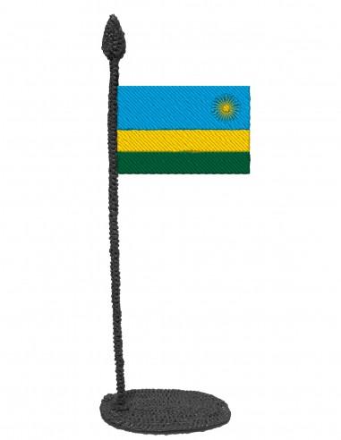 Flag of Rwanda (Free Template For a 3D Pen)