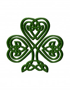 Celtic Clover (Free Template For a 3D Pen)