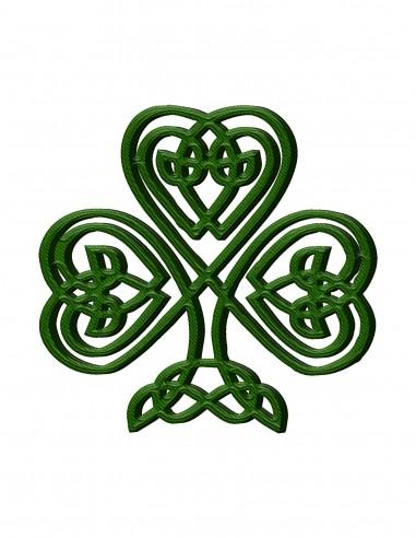 Celtic Clover (Free Template For a 3D Pen)