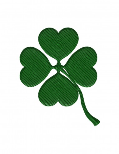 Four-Leaf Clover (Free Template For a 3D Pen)