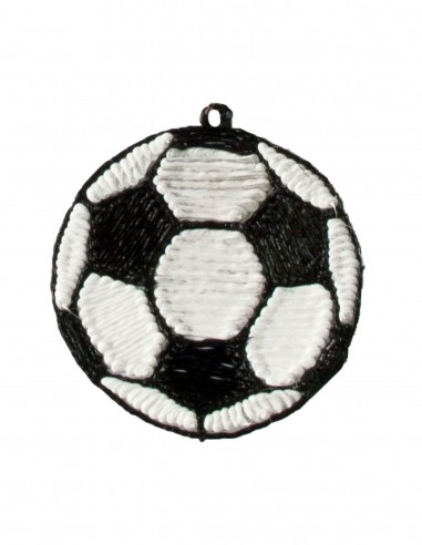 Football Keychain (Free Template For a 3D Pen)