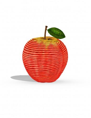 Яблоко (трафарет для 3D-ручки)