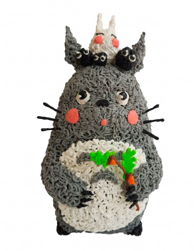 Totoro (Free Template For a 3D Pen)