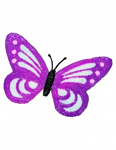 Бабочка №4 (Бесплатный трафарет для 3D-ручки)
