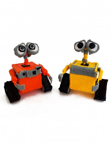 Wall-E (Free Template For a 3D Pen)