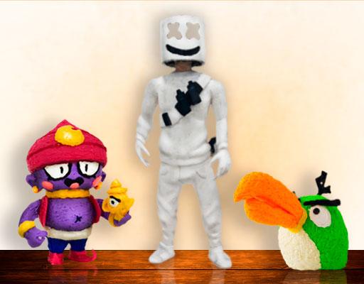 3D Pen Characters